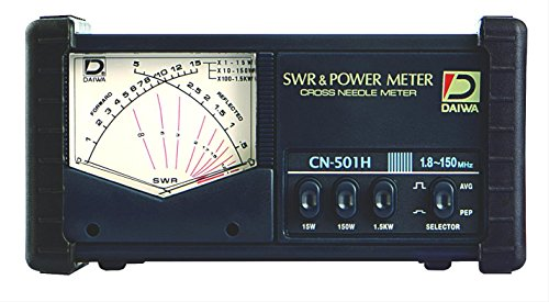 [해외]DAIWA CN-501H 1.8-150 MHz Cross-Needle SWRPower Meter W SO239s / DAIWA CN-501H 1.8-150 MHz Cross-Needle SWRPower Meter W SO239s