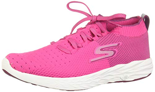 Skechers Womens GOrun 6 Pink 8 B - Medium
