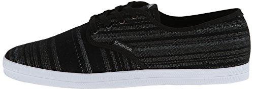 Emerica THE Wino Zapatos–Black/Grey 42