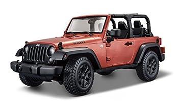 Amazon Com Maisto 2014 Jeep Wrangler No Top Diecast Vehicle 1 18