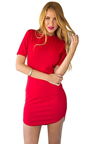 LookbookStore Womens Sleeves Length Bodycon