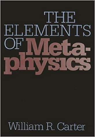 The Elements of Metaphysics (The Heritage series in philosophy)