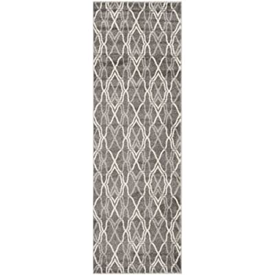 Safavieh Amherst Collection AMT417C Grey and Light Grey Indoor/ Outdoor Area Rug