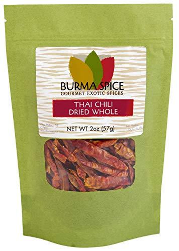 Whole Thai Chili : Spicy : Dried Herb Kosher ()
