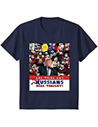 Trump Rally, Any Russians, Russia, Emoji T-Shirt, Anti-Trump