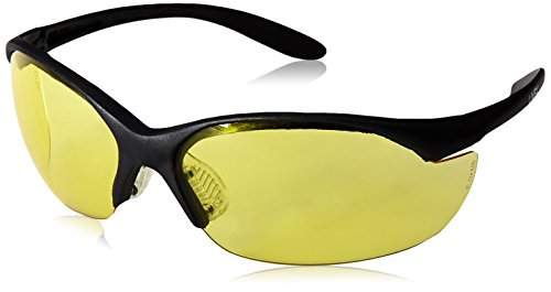 Howard Leight by Honeywell Vapor II Sharp-Shooter Anti-Glare Shooting Glasses, Amber Lens - Glasses Into Sunglasses Tint