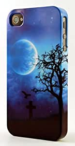MMZ DIY PHONE CASEGothic Grave Scene Dimensional Case Fits iphone 6 4.7 inch