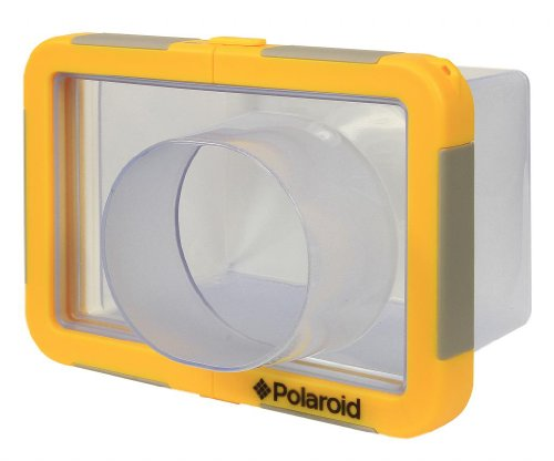 Polaroid Dive-Rated Large Waterproof Camera Housing For The Sony Cybershot RX100, HX30V, HX20V, HX10V, HX9V, HX7V, HX5, HX50V, H55, H70, H90 Digital Camera (Sony Cyber Shot Waterproof Case)