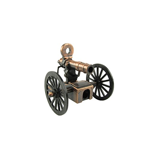 Miniature Gatling Gun Die Cast Pencil Sharpener