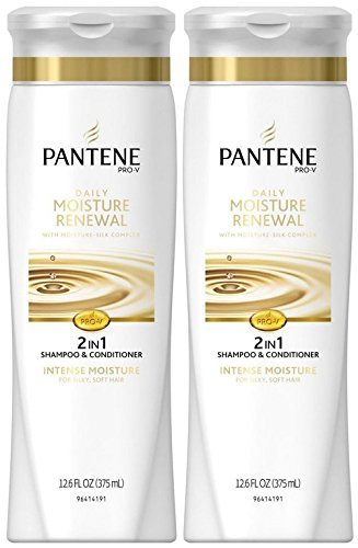 Pantene Pro-V Daily Moisture Renewal 2-in-1 Formula - 12.6 oz - 2 Pack Renewal 2in 1 Shampoo Conditioner