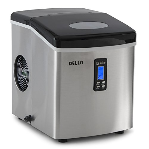 Della© Electric Ice Maker Machine Counter Top / Timer &