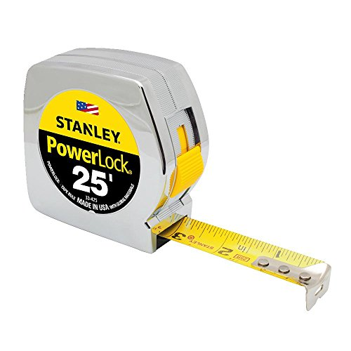 (Stanley 33-425 25-Foot by 1-Inch Measuring Tape)