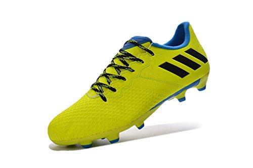 Generic hombres amarillo zapatos de Messi 16,3FG Fútbol Botas