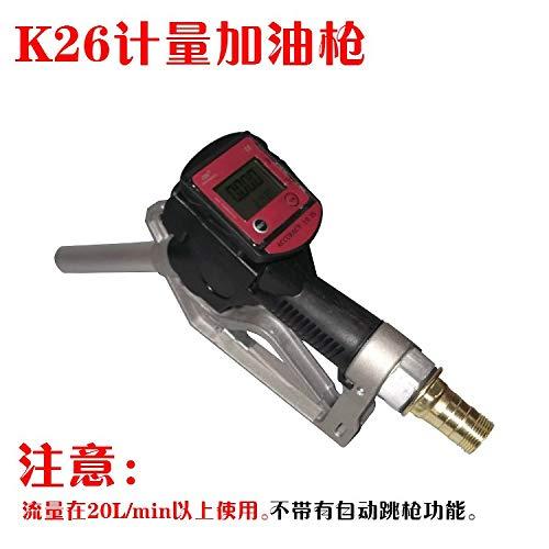 Flow Meters | Fuel Gasoline Diesel Petrol Oil Delivery Gun Nozzle Turbine Digital Fuel Flow Meter LPM Liter | by - Flow Coriolis Meter