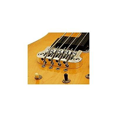 Hipshot SuperTone Gibson 3-Point Bass Bridge Chrome by Hipshot