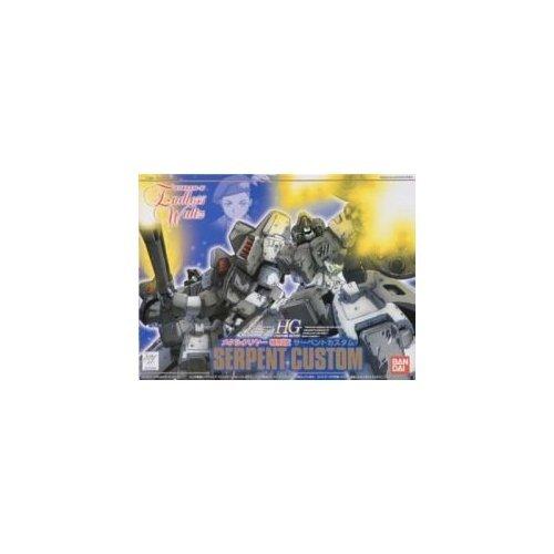 Bandai Hobby EW-04 Serpent Custom Metallic & Clear Bandai Action Figure