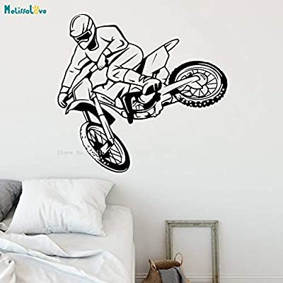 zhuziji Motocross Race Etiqueta de La Pared Calcomanías Nuevo ...