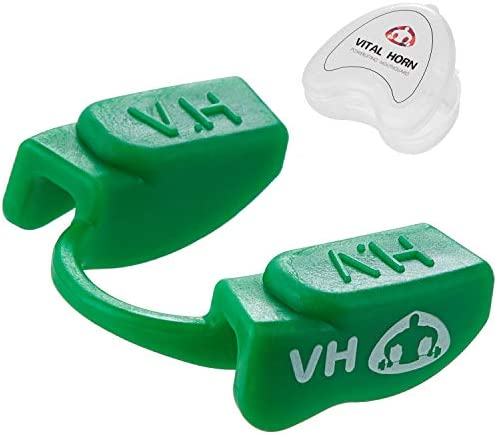 Vital Horn Powerlifting Mouthpiece for Sports,Focus on Protection and Performance,Lower Jaw,No Contact
