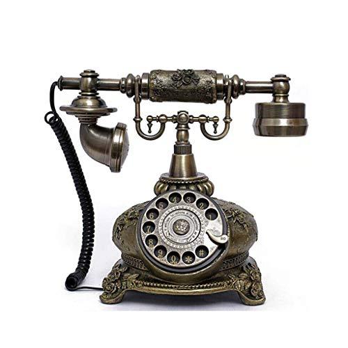 Trash Cans Antique Telephone European Telephone Rotary Dial Carousel Retro Fashion Creative Telephone Home Landline Machine Factory Direct Sales