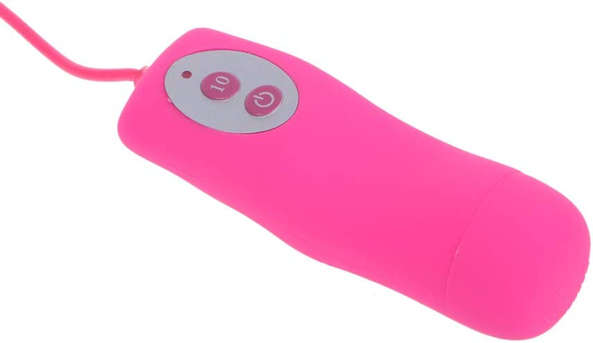 Ultra-Silent/&Waterproof-Power by 2 x AAA Battery JINZHI Portable Cute Powerful Bullet for Travel 10 Modes for Women Body Relax
