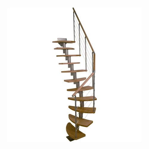 "Dolle Rome Modular Staircase Kit - 87""-109"", Multiple Layout Patterns"