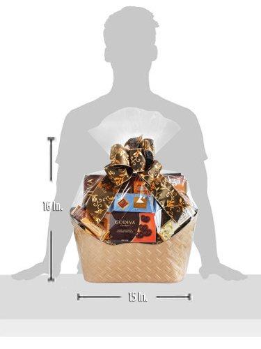 Majestic Godiva Chocolate Gift Basket by California Delicious by California Delicious (Image #2)