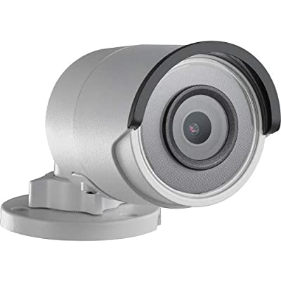 Hikvision Easyip 2.0Plus Ds-2CD2023G0-I 2 Megapixel Network Camera - Color, Monochrome - 98.43 ft Night Vision - H.264+, Motion JPEG, H.264, H.265+, H.265-1920 X 1080-2.80 mm - CMOS - Cable - Bull