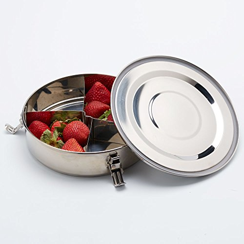 Stainless Steel Bento Lunch Box, Airtight Leak Proof Food Container