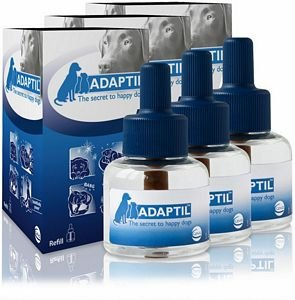 ADAPTIL (D.A.P.) Dog Appeasing Pheromone Refill (144mL) (3-Pack)