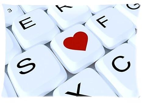 Casa caliente juegos teclado mecánico teclado mejores regalos decorar almohada personalizada suave funda de almohada Funda ...