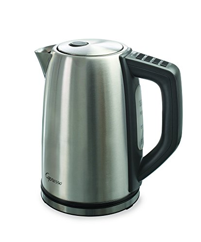 (Capresso 278.05 H2O Steel Plus Water Kettle, One Size,)