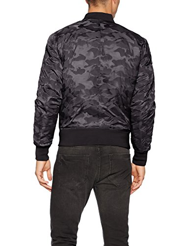 Jacket Camo para Bomber Hombre Classic Tonal Urban 7 Chaqueta Negro Black gYqnwtRwx