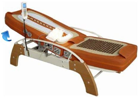 Jade-Therapy-Massage-Bed-Table-with-Back-Tilt-and-Germanium-Heated-Leg-Mat-FIR-Far-Infrared-Spinal-Traction-Decompression-Help