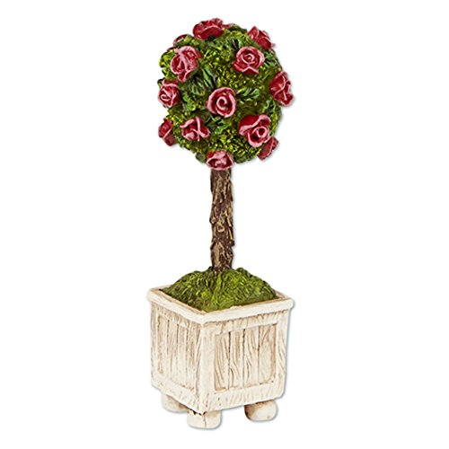 Studio M Merriment Mary Engelbreit Fairy Garden - Mini Rose Topiary (Make Topiary Rose)