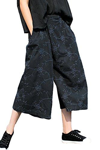 Crop Casual Pants - 8