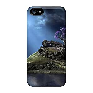 Awesome Design 3d Island Hard Cases Covers For Iphone 5/5s