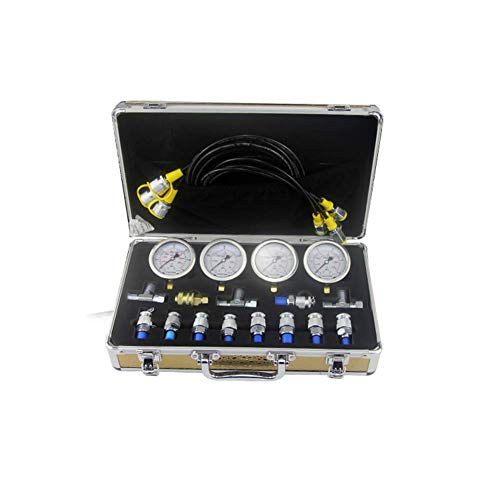 Dzhot51 Excavator Hydraulic Manometer Diagnostic Test Kit for Excavator Caterpillar from Dzhot51
