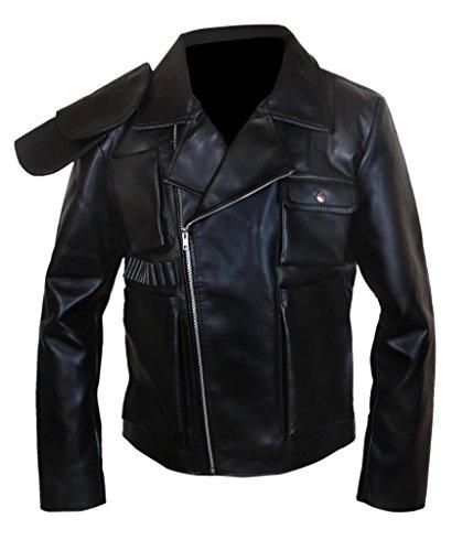 Max Jacket Genuine Hardy Fury amp;h Men's Black Mad Leather Tom F Road waX1qZO