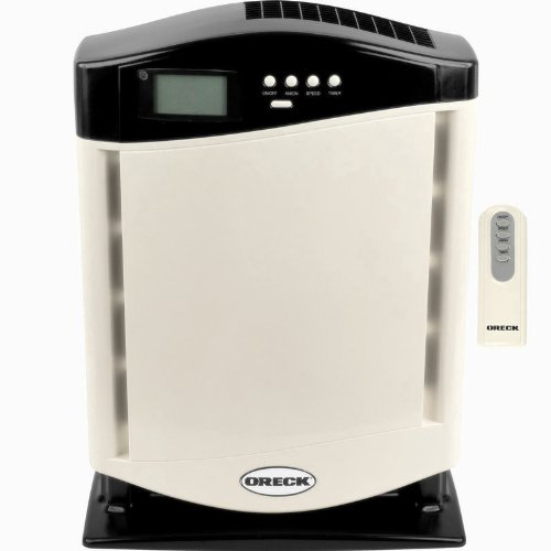 Oreck Air Purifier Revitalizer with ion HEPA Filtration System Technologies 3-speed with Remote Control and Warranty