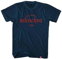 Bayern Munich Die Roten T shirt X Large Navy