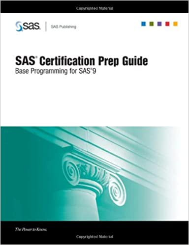 Sas certification prep guide base programming for sas 9 sas sas certification prep guide base programming for sas 9 fandeluxe Image collections