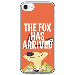 Loud UniverSE Zootopia Quote iPhone 7 CaSE zootopia Fox iPhone 7 Cover with Transparent Edges
