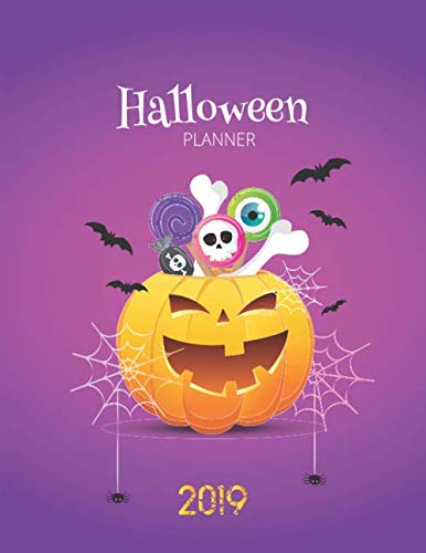 Planning A Church Halloween Party (2019 Halloween Planner: Get Organized This Halloween Party 2019! Preparations and Costume, Planning, Budget, Decorations and)