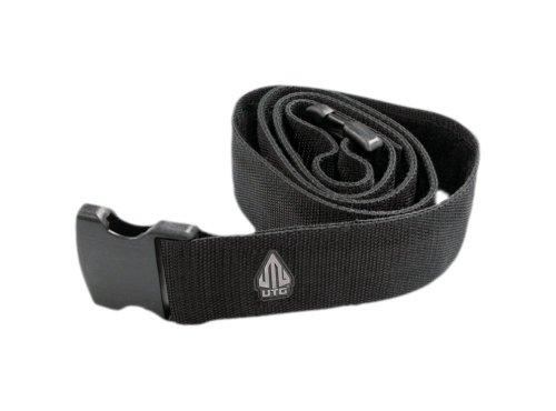 UTG Heavy Duty Web Belt - Black (Pack of 2 Belts)