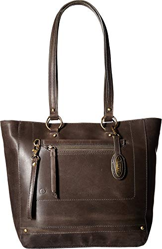 (Born Womens Wellsley Tote w/Pouch Charcoal One Size)