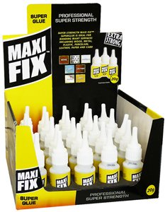 Maxi Fix Super Glue Ultra Strong 20G Bottle Superglue: Amazon ca