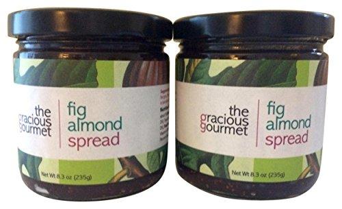 (The Gracious Gourmet Fig Almond Spread, 16.6 Ounce)