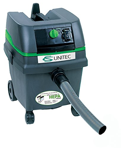(CS Unitec CS 1225 H 6.6 gal HEPA Wet/Dry Industrial Vacuum Cleaner)