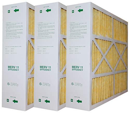Amana/Goodman/Clean Comfort Genuine OEM MFAH-M MERV 11 FILTERS ACTUAL SIZE 19 9/16