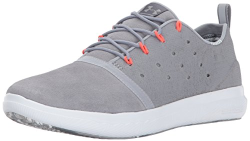 Under Armour Women's Charged 24/7 Low NM, Steel (035)/Overcast Gray, 8.5